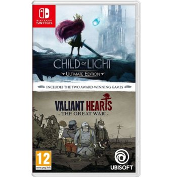 Child of Light UltimateE + Valiant Hearts Switch product