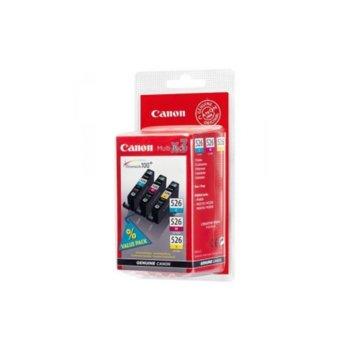 Глави за Canon PIXMA MG8150, MG6150, MG5250, MG5150, iP4850 - CLI-526 - Cyan/Magenta/Yellow  image