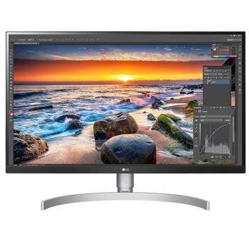 "Монитор LG 27UL850-W, 27"" (68.58 cm) IPS панел, 4K/UHD, 5ms, 1 000:1, 300cd/m2, DisplayPort, HDMI, USB Type C image"