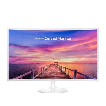"""Монитор Samsung C32F391FWU, 31.5"""" (80.01 cm) VA панел, Full HD, 4ms, Mega, 250cd/m2, DisplayPort, HDMI image"""