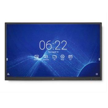 """Публичен дисплей NEC CB751Q, тъч дисплей, 75"""" (190.5 cm) Ultra HD, HDMI, VGA, USB, RS232 image"""