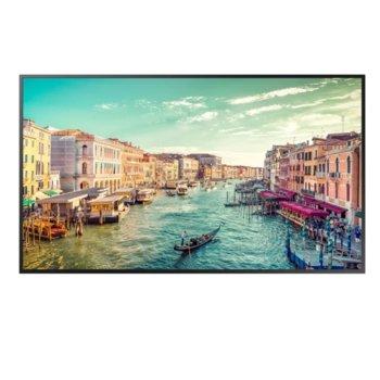 "Публичен дисплей Samsung LH55QMREBGCXEN, 55"" (139.7 cm) Ultra HD, WiFi, Bluetooth, Display Port, HDMI, DVI-D, USB, RJ-45, RS232C image"