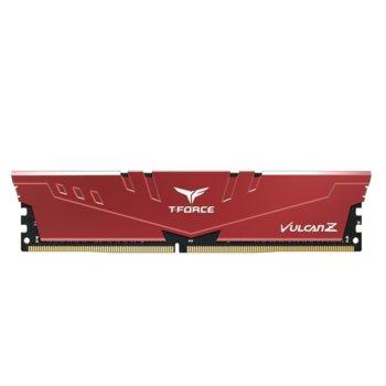 Памет 8GB DDR4, 2666MHz, Team Group T-Force Vulcan Z TLZRD48G2666HC18H01, 1.2V image