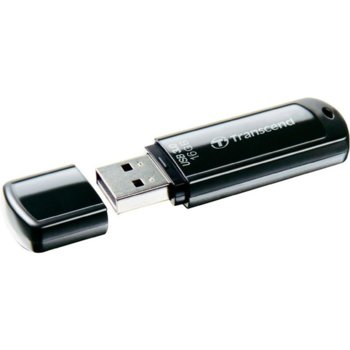 Памет 16GB USB Flash Drive, Transcend JetFlash 700, USB 3.0, черна  image