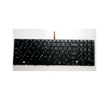 Клавиатура за Acer Aspire V5-572 V5-552 V5-573, черна, US image