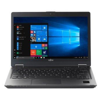 "Лаптоп Fujitsu Lifebook U729X (S26391-K491-V100_SOL_PR), четириядрен Whiskey Lake Intel Core i7-8665U 1.9/4.8 GHz, 12.5"" (31.75 cm) Full HD Glare Display, (DP), 16GB, 512GB SSD, 1x USB 3.1 Type C, Windows 10 Pro, 4G image"