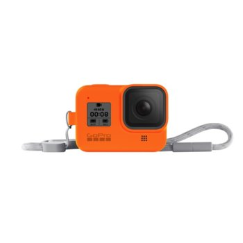Калъф GoPro Sleeve + Lanyard Hyper Orange за HERO8 Black, с връзка, оранжев image
