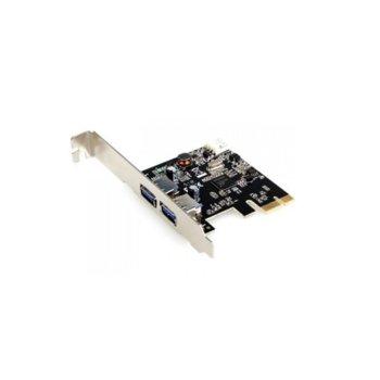 Контролер PCI-E x1 to 2xUSB3.0, 17456 image
