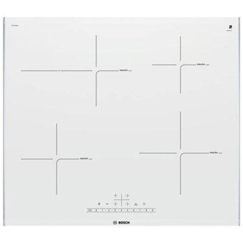 Стъклокерамичен плот за вграждане Bosch PIF 672 FB 1E, 4 нагревателни зони, QuickStart функция, PowerBoost функция, бял image