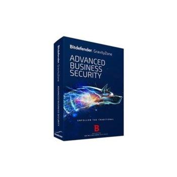Софтуер Bitdefender GravityZone Advanced Business Security, 25 - 49 потребителя, 1 година image