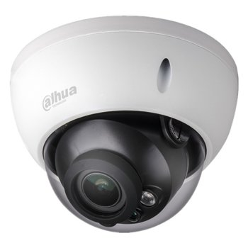HDCVI камера Dahua HAC-HDBW1200R-Z-2712-S4, куполна, 2 Mpix(1920x1080@30fps), 2.7-12mm моторизиран обектив, IR осветеност (до 30м), външна IP67 image