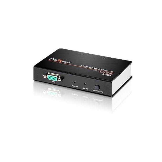 KVM екстендър ATEN CE700A, от 2x USB A(ж), HDB-15(VGA)(ж), SPHD-17(ж) към 2x USB A(ж), HDB-15(VGA)(ж), резолюция 1280 x 1024, до 150m image