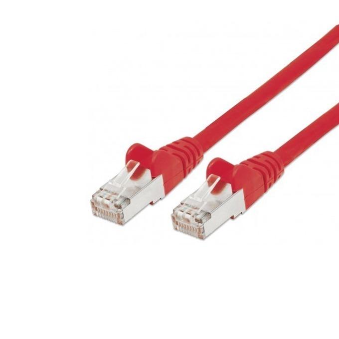 Пач кабел Intellinet, FTP, Cat.5e, 1m, червен image