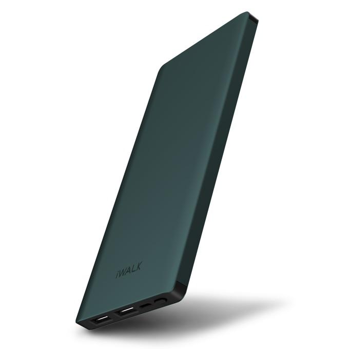 Външна батерия /power bank/ iWalk Chic, 10000mAh, USB, 5V, 2.1A, синя image
