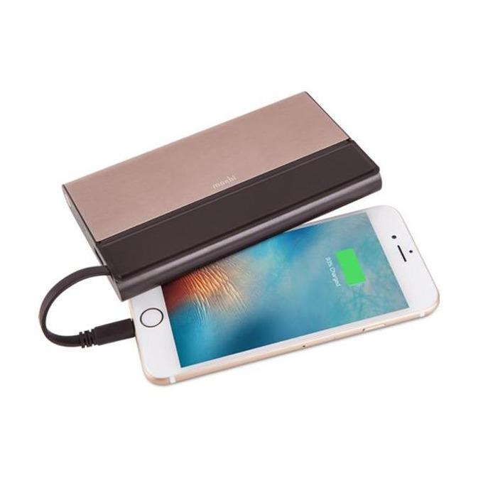 Външна батерия/power bank/ Moshi IonBank 10K External Battery 10300 mAh, бронз image