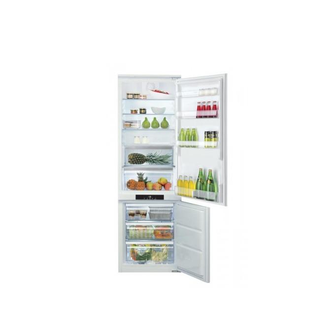 Хладилник с фризер Hotpoint-Ariston BCB 80201 AA F C 03, клас А+, 294 л. общ обем, за вграждане, 335 kWh/годишно, дисплей, защита за деца, автоматично размразяване, бял image