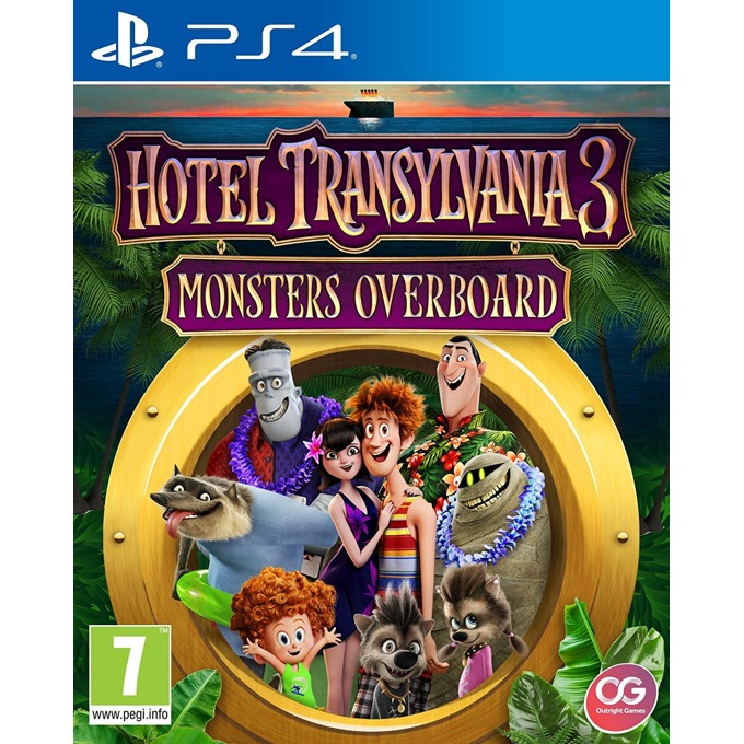 Игра за конзола Hotel Transylvania 3: Monsters Overboard, за PS4 image
