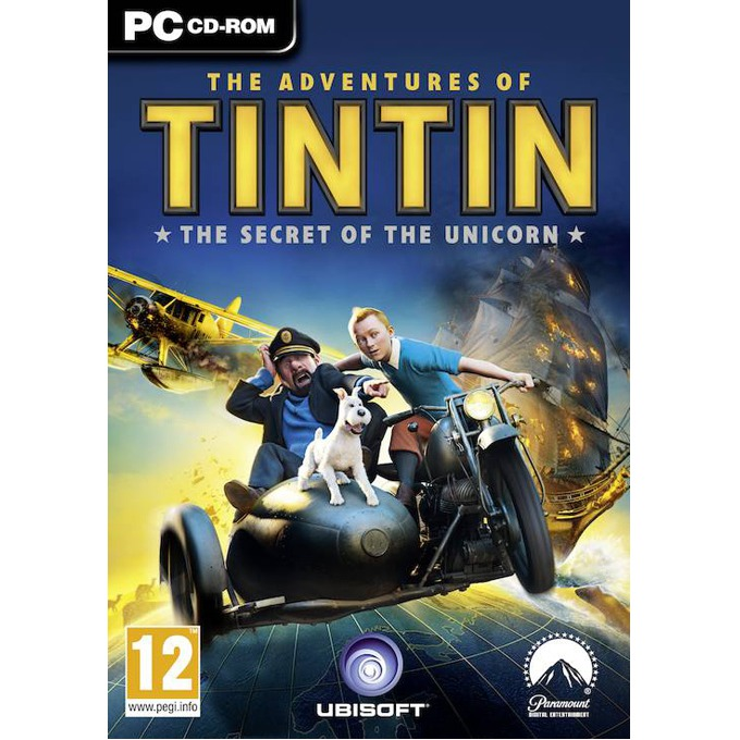 The Adventures of Tintin: The Game, за PC image