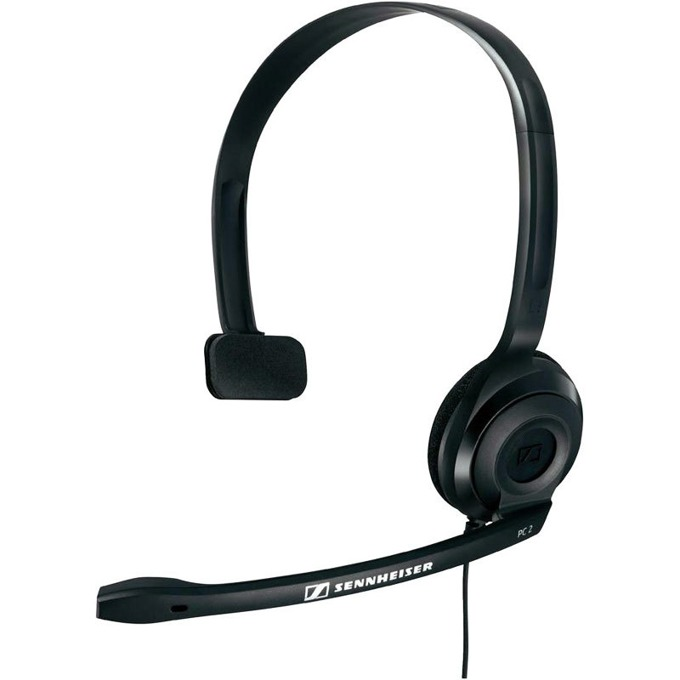 Слушалка с микрофон Sennheiser PC 2 Chat, Black