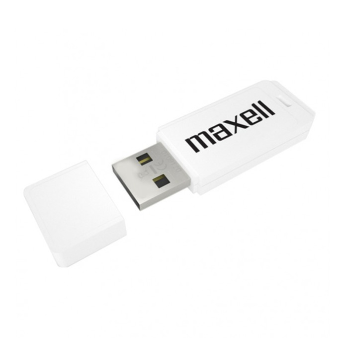 "64GB USB Flash Drive, Maxell ""Venture"", USB 2.0, бяла  image"