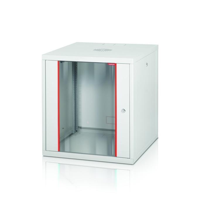"""Комуникационен шкаф Formrack GLD-7U560/ALFA-7U560, 19"""", 7U, 555 x 560 mm, бял image"""