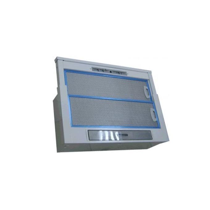 Aбсорбатор Crown SLIMLUX CA10-60BG WH, за вграждане, телескопичен, 190w, 417m³/h, 1 мотор, 2 нива на мощност, бял image