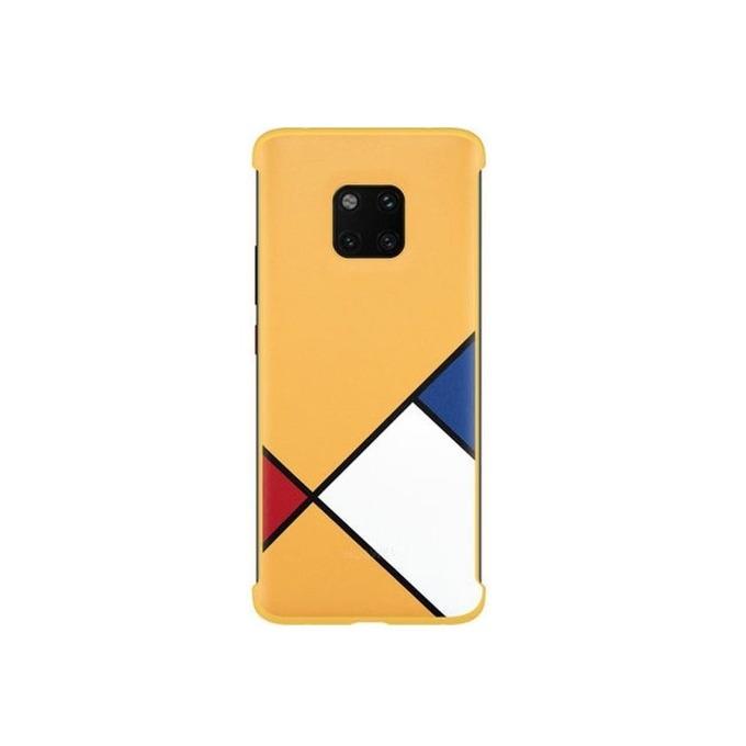 Калъф за Huawei Mate 20 Pro, силиконов, Huawei C-Laya Case, жълт image