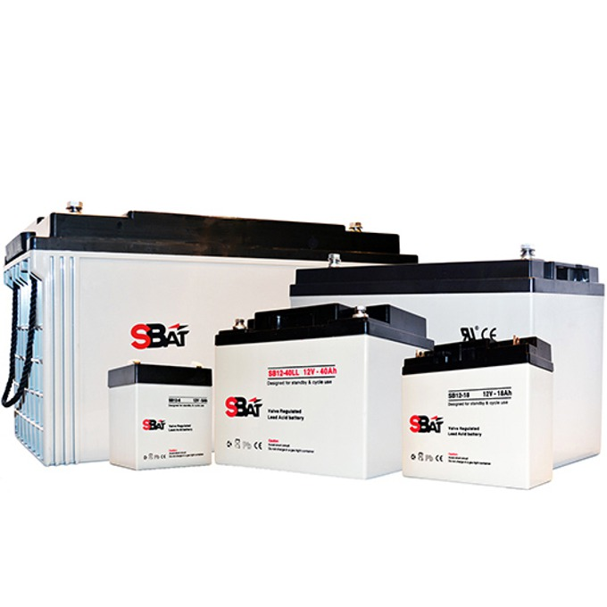 Акумулаторна батерия SBat SB12-40LL, 12V, 40Ah image