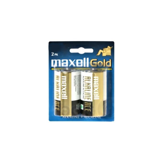 Батерии алкални Maxell Gold LR20, 1.5V, 2 бр. image