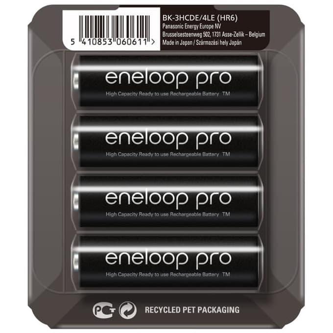 Panasonic Eneloop Pro AA 2450 BL4