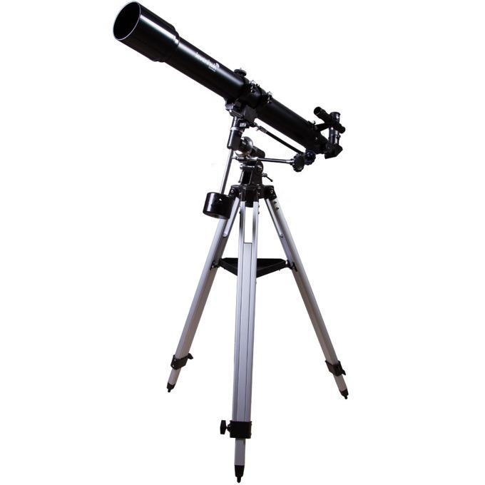 Телескоп Levenhuk Skyline 70x900 EQ, 140x оптично увеличение, 70 mm диаметър на лещата, 900 mm фокусно разстояние image