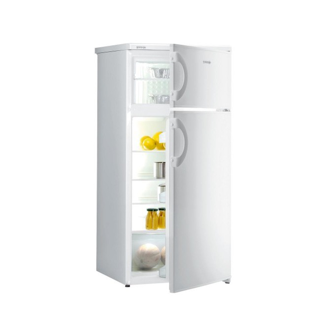 Хладилник с фризер GORENJE RF 4141 AW, клас A+, 234л. общ обем, 1 компресор, Механично управление, бял image