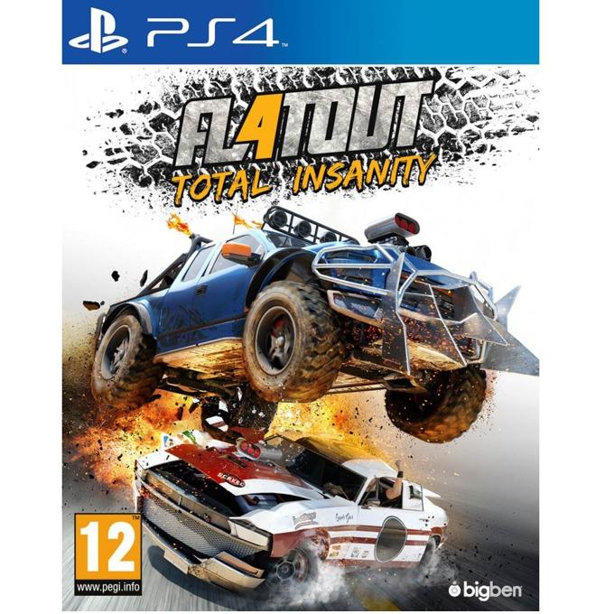 Игра за конзола FlatOut 4: Total Insanity, за PS4 image
