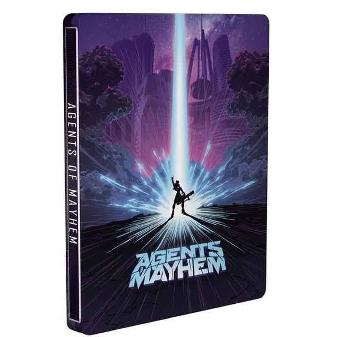 Игра за конзола Agents of Mayhem: Steelbook Edition, за PS4 image