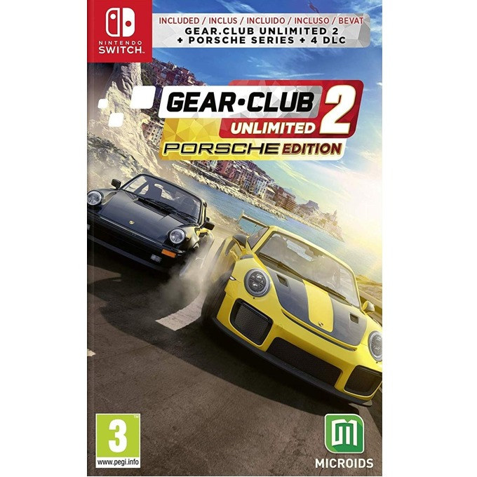 Игра за конзола Gear.Club Unlimited 2 Porsche Edition, за Nintendo Switch image