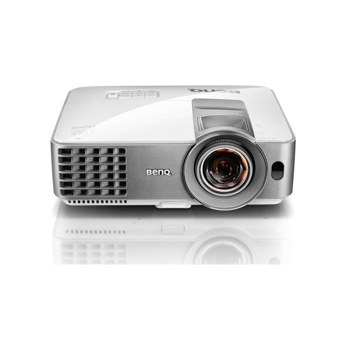 Проектор BenQ MS630ST, DLP 3D Ready, SVGA (800 x 600), 13000:1, 3200 lumens, Speaker 10W x 1, HDMI, D-sub, Composite Video, S-Video, USB, RS232, IR Receiver image