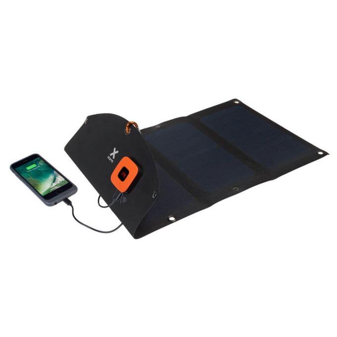 Соларен панел за зареждане A-solar Xtorm SolarBooster 21W Panel AP275, към 2x USB, 5V/2.1A, черно image