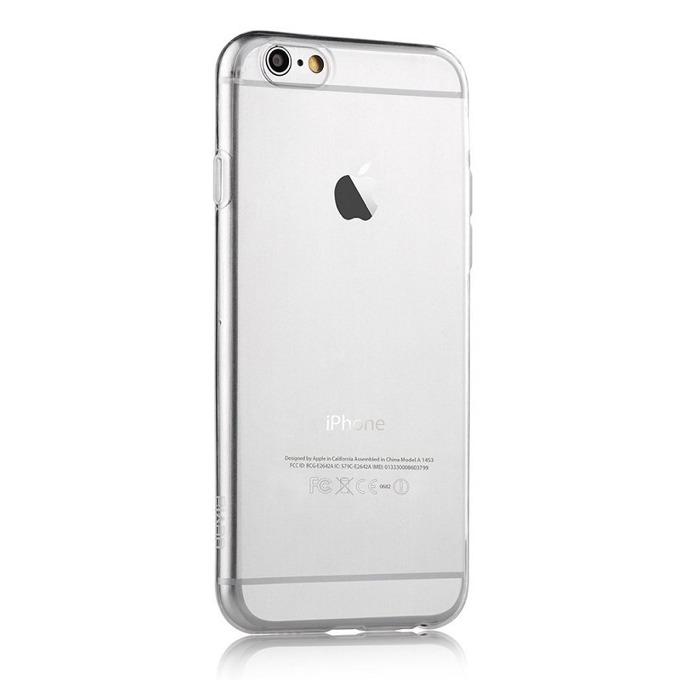 Силиконов протектор Devia за Apple iPhone 6 и iPhone 6S, прозрачен image