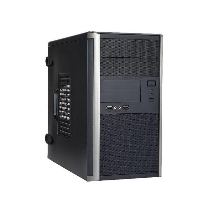Кутия In Win EM035, Micro-ATX, 2x USB 3.0, черна, без захранване image
