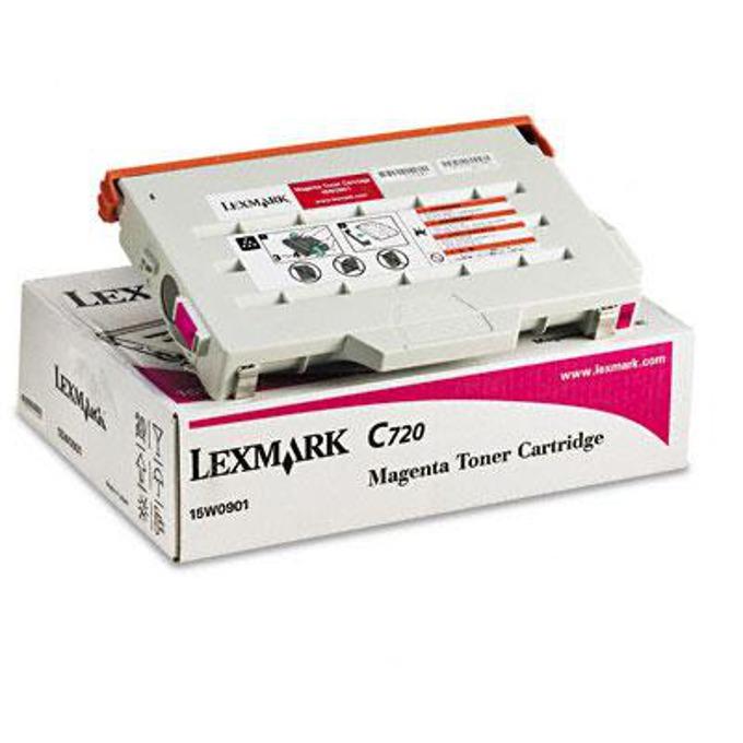 КАСЕТА ЗА LEXMARK C 720 - Magenta - P№ 15W0901 M - заб.: 7200k image