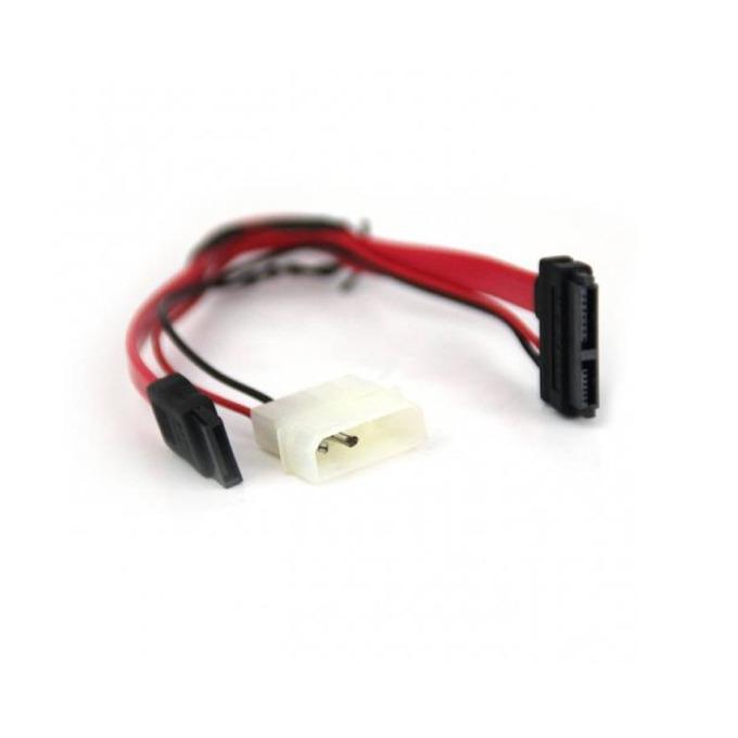 VCom CE361 SATA + Molex to SATA Power/Data