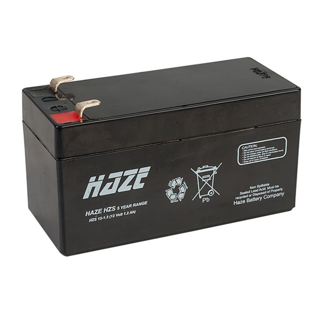 Акумулаторна батерия HAZE, 12V, 1.3Ah  image