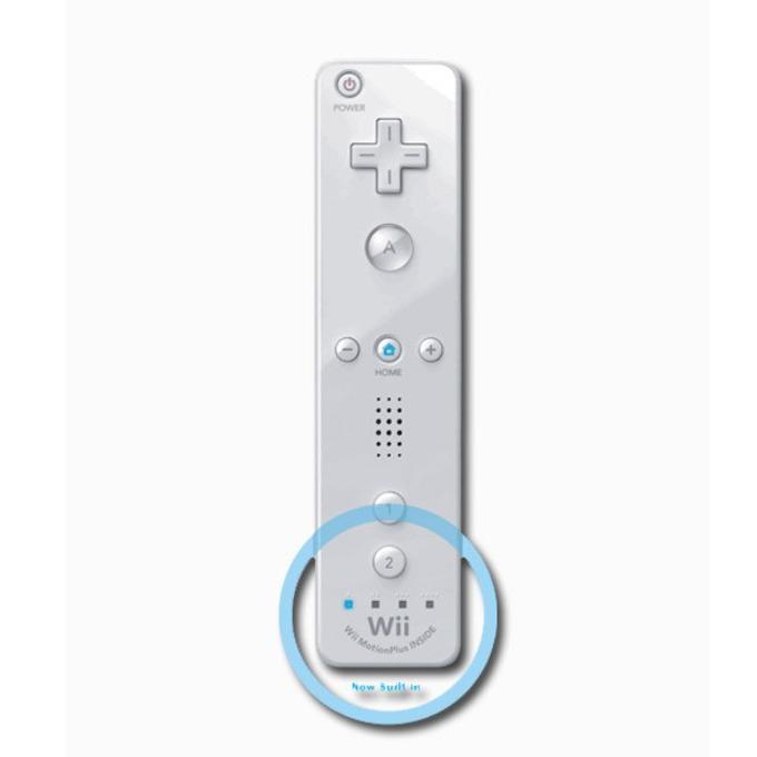 Контролер Nintendo WII U Remote Plus, бял за Wii/Wii U image