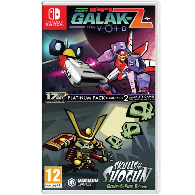 Galak-Z: and Skulls of the Shogun Platinum Switch product