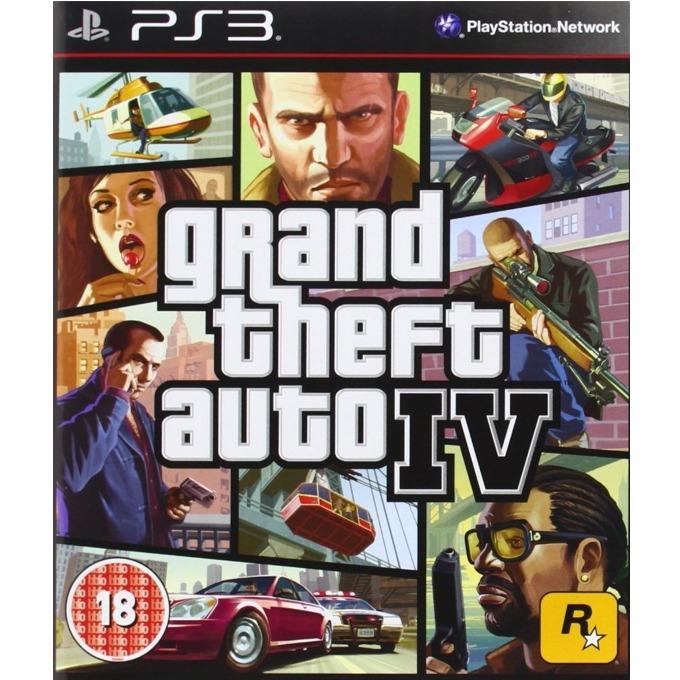 Игра за конзола Grand Theft Auto IV - Bundle Copy, за PS3 image