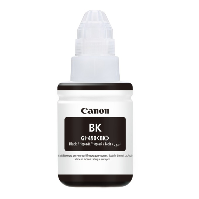 Canon (GI-490 BK) 0663C001 Black