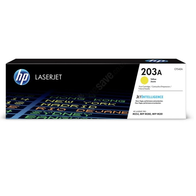 HP (CF542A) Yellow 203A product