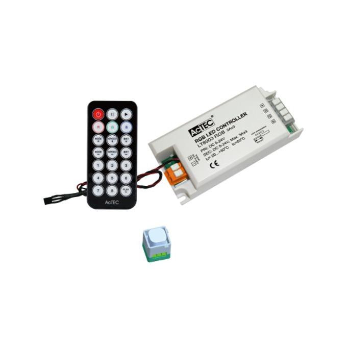LED RGB контролер Actec LC-LT8903-RGB-IR