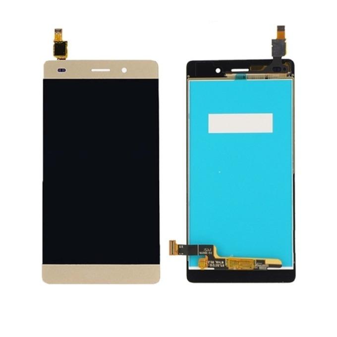 Дисплей за Huawei Ascend P9 lite, с тъч, златен image