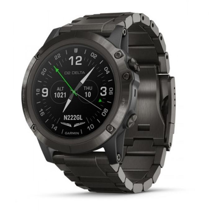 Смарт часовник D2 Delta PX, GPS, стъкло сапфир кристал, памет 16GB, черен image